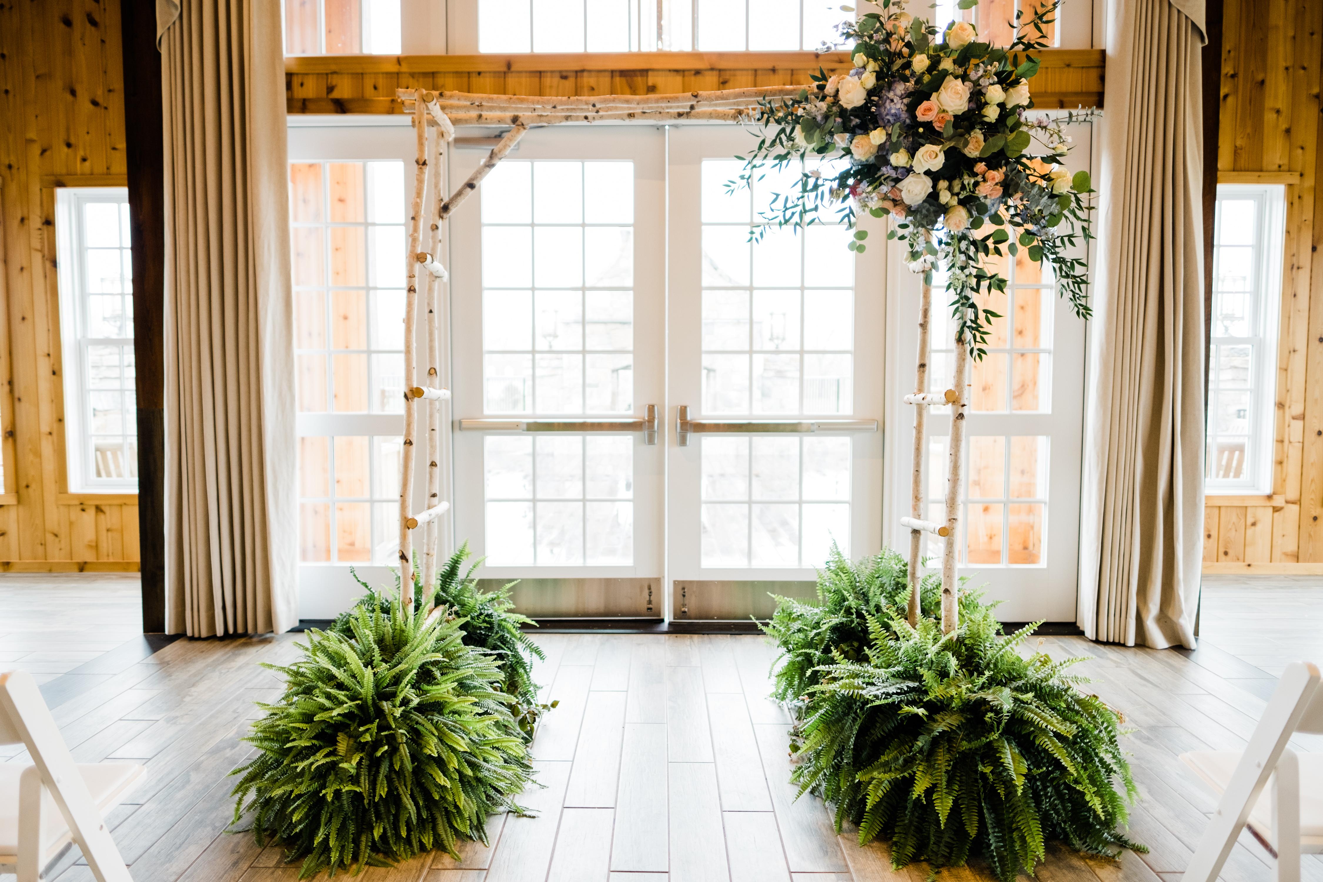 Charlottesville Indoor Wedding Ceremony