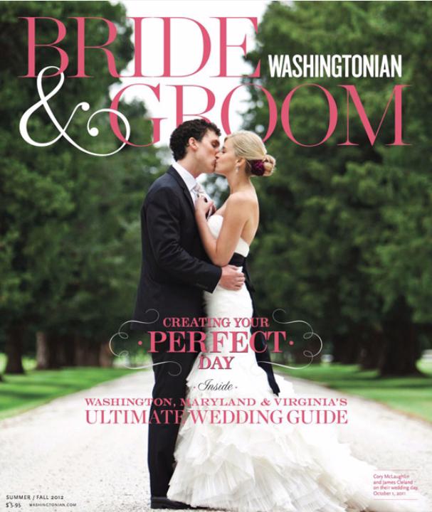 Bride & Groom Washingtonian