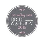 Best Wedding Venue 2015 badge