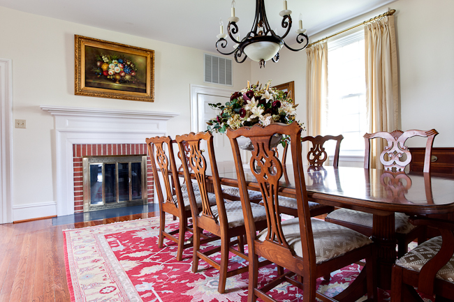 Mount Pleasant Manor Dining Room