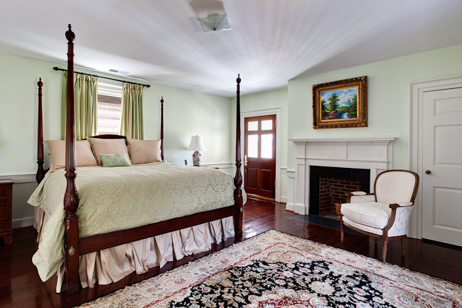 Mount Pleasant Manor Master Bedroom