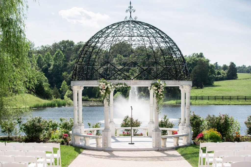 Gazebo- outdoor ceremony event barn
