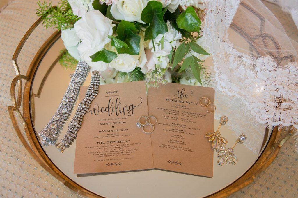Wedding Details; stationary & jewelry