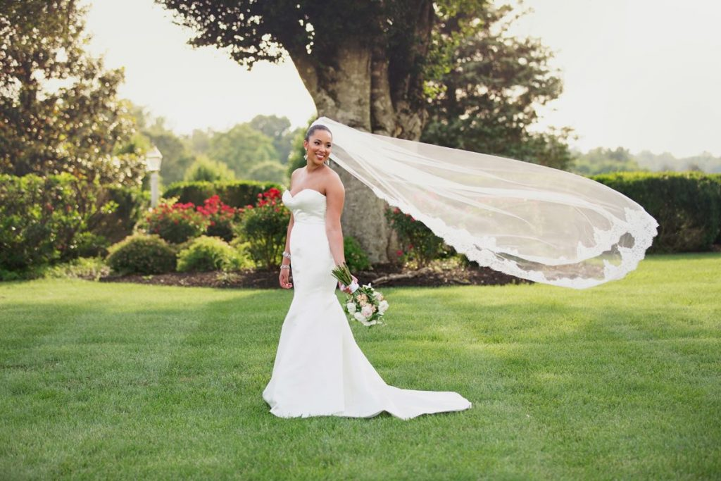 Akinyi- Beautiful bride at Mount Ida Farm + Vineyard