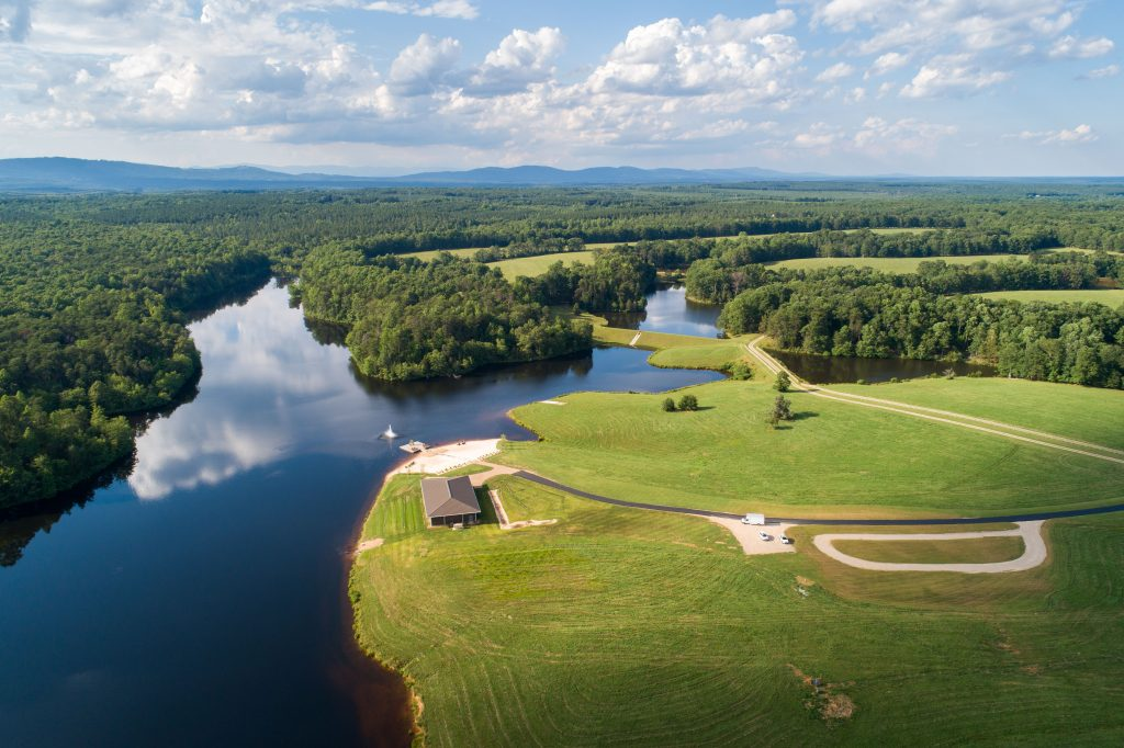 Water's Edge at Mount Ida Farm- Charlottesville Wedding Venue