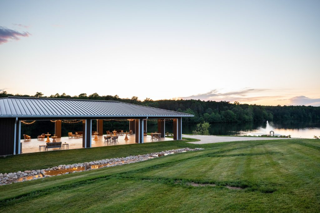 Water's Edge at Mount Ida Farm- Charlottesville Wedding Venue